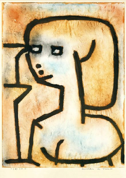 Klee, Paul: Girl in Mourning. Fine Art Print/Poster (4992)